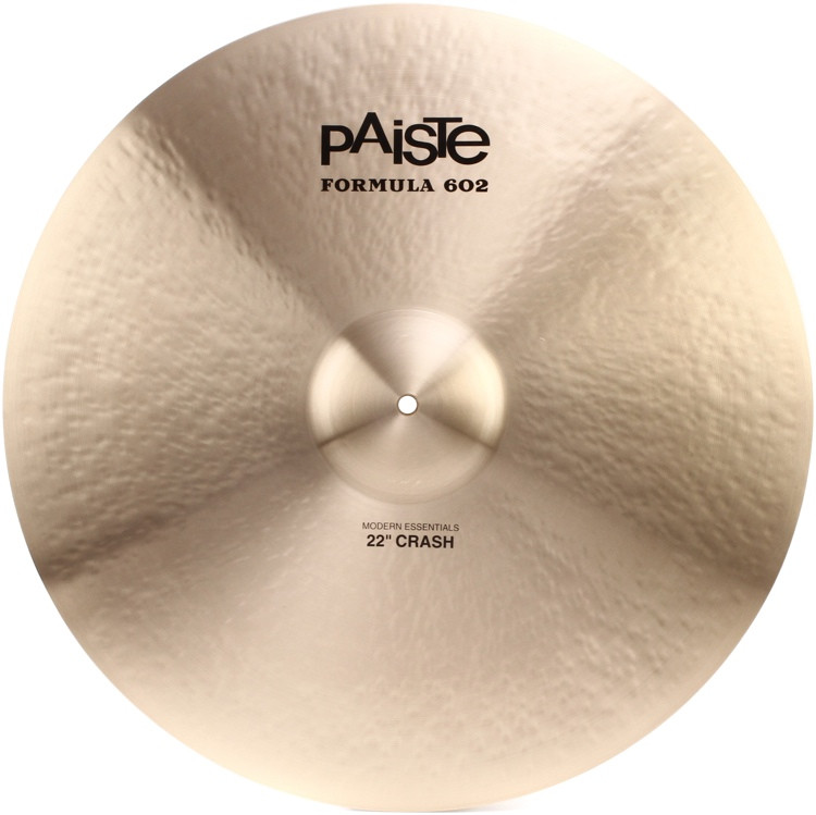 Paiste Formula 602 Modern Essentials Crash - 22