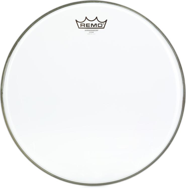 Remo Clear Ambassador Drum Head - 14