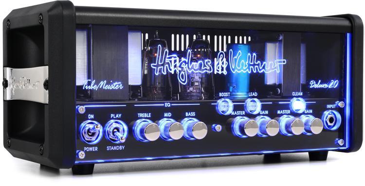 Hughes & Kettner TubeMeister Deluxe 20 - 20/5/1-watt Tube Head image 1