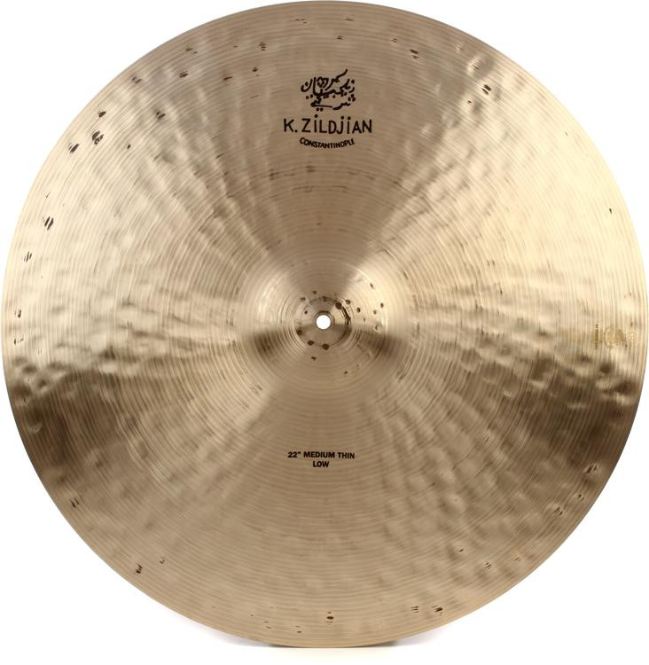 Zildjian K Constantinople Medium Thin Ride - 22