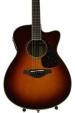 Yamaha FSX820C - Brown Sunburst