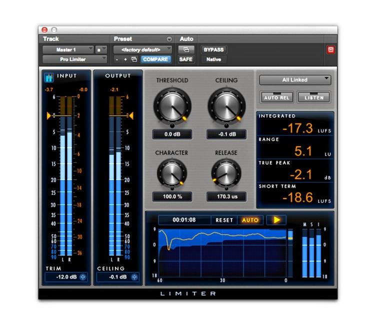 Avid Pro Limiter AAX Plug-in image 1