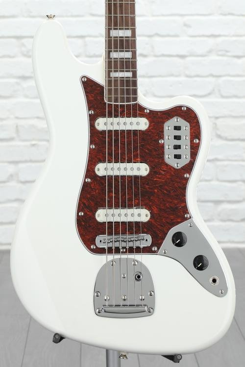 Squier Vintage Modified Bass VI - Olympic White
