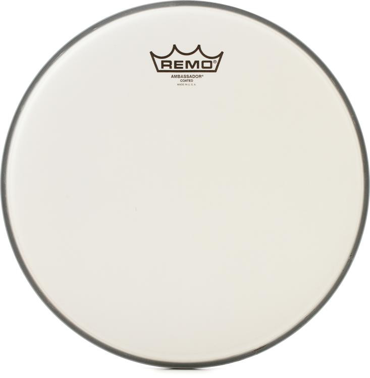Remo Coated Ambassador Drum Head - 12