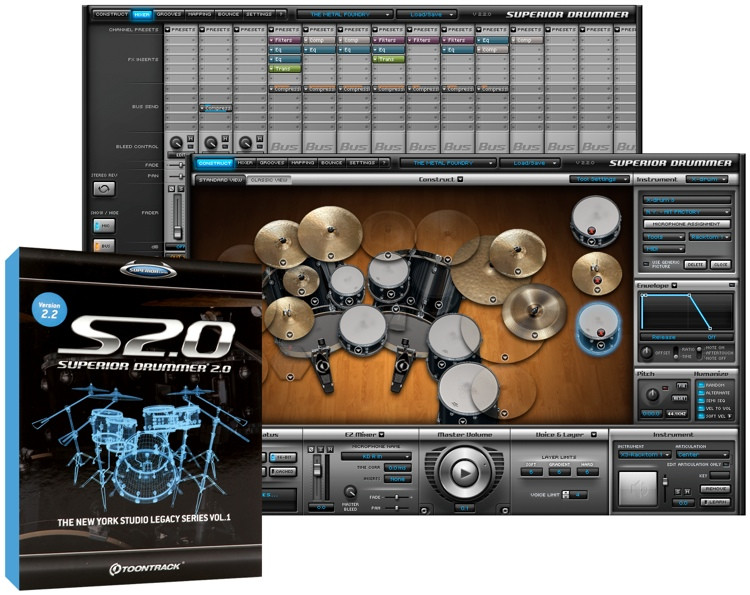 Toontrack Superior Drummer 2.0 (boxed) image 1