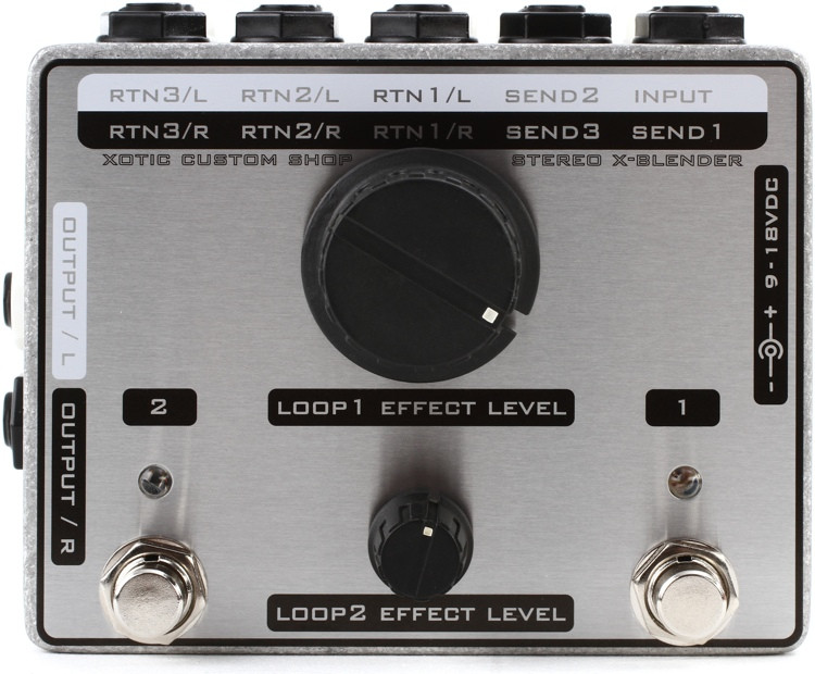 Xotic Custom Shop Stereo X-Blender Pedal image 1