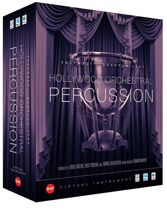 EastWest Hollywood Orchestral Percussion - Diamond Edition (Mac Hard Drive) image 1