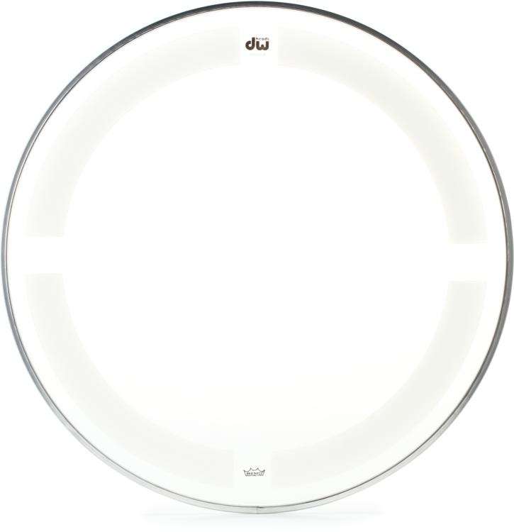 DW Coated/Clear Drumhead - 15