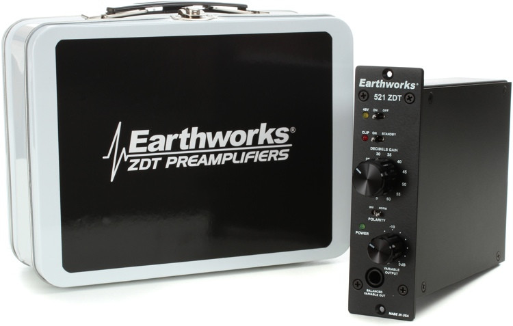 Earthworks 521 ZDT Microphone Preamp image 1