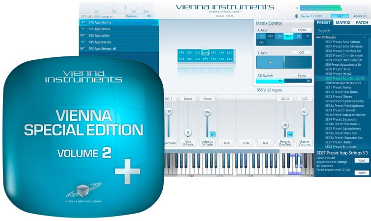 Vienna Symphonic Library Special Edition Volume 2 PLUS image 1