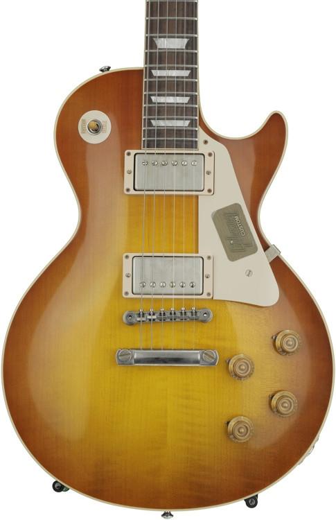 Gibson Custom Standard Historic 1958 Les Paul - Sunrise Teaburst VOS image 1
