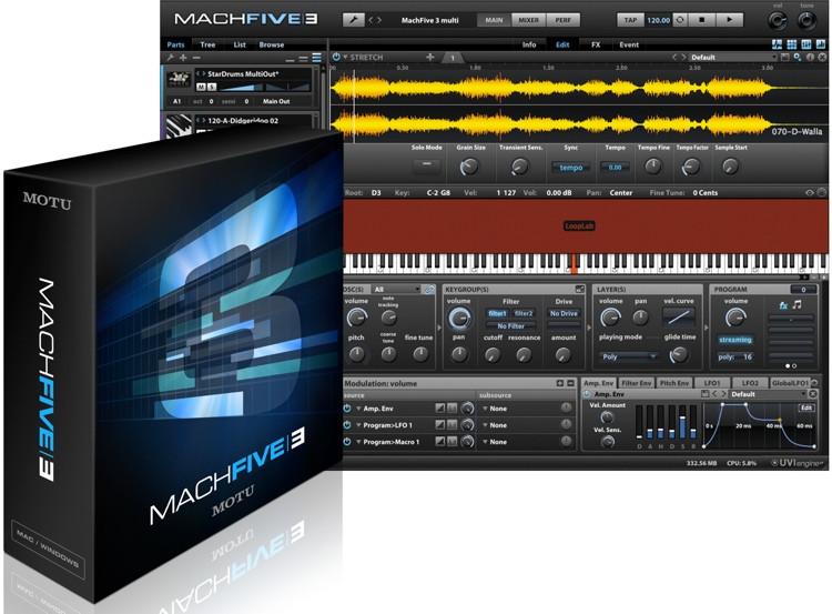 MOTU MachFive 3 Competitive Upgrade image 1