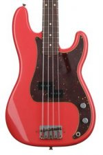 Fender Custom Shop Pino Palladino Precision Bass - Fiesta Red