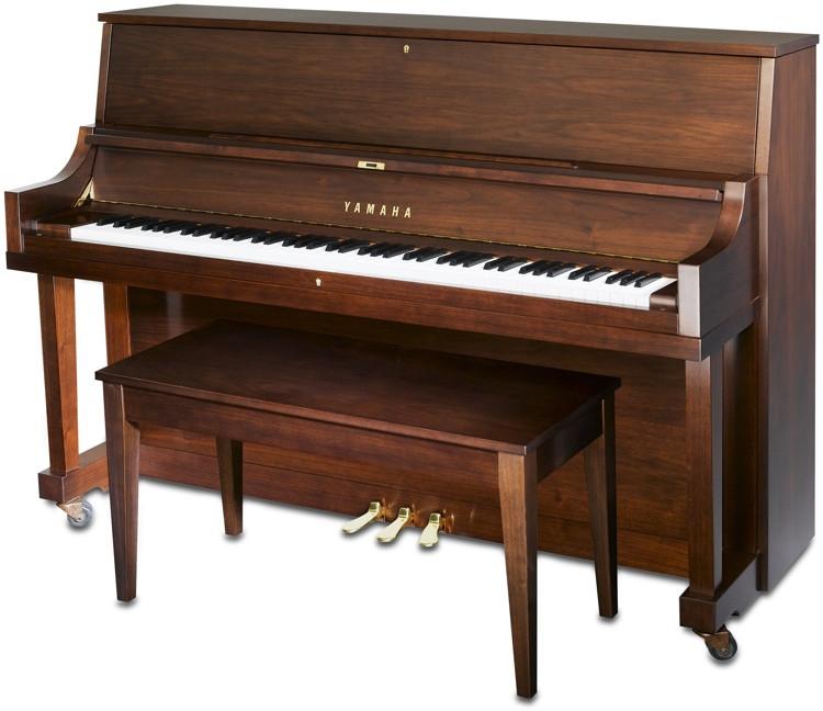 Yamaha P22 Acoustic Piano - Satin American Walnut image 1