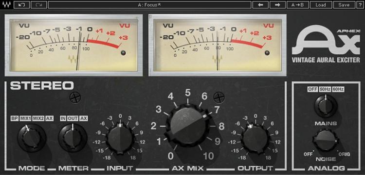 Waves Aphex Vintage Aural Exciter Plug-in image 1