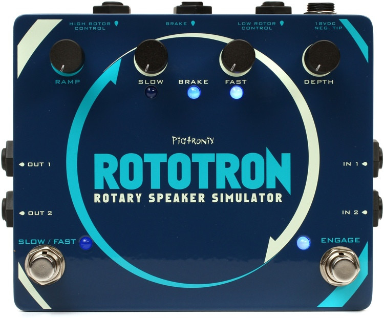 Pigtronix Rototron Rotary Speaker Emulation Pedal image 1
