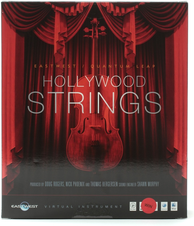 EastWest Hollywood Strings - Diamond Edition (Windows Hard Drive) image 1