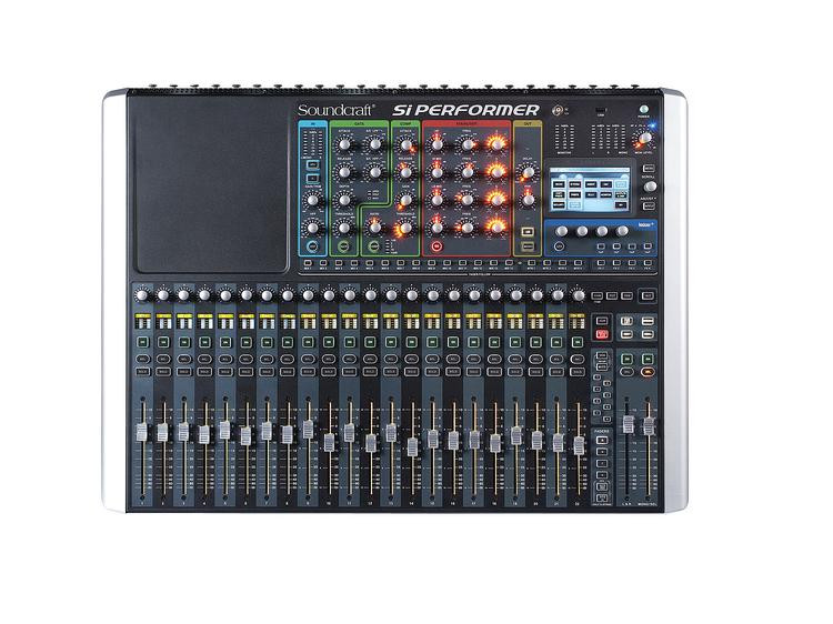 soundcraft si performer 2 digital mixer with dmx control sweetwater. Black Bedroom Furniture Sets. Home Design Ideas