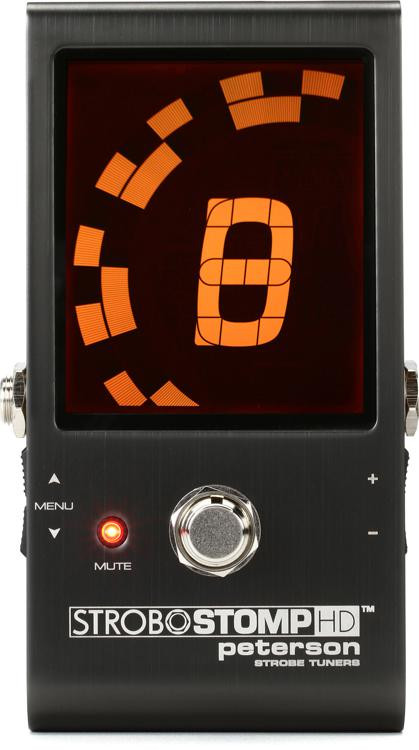 peterson strobostomp hd pedal tuner sweetwater. Black Bedroom Furniture Sets. Home Design Ideas
