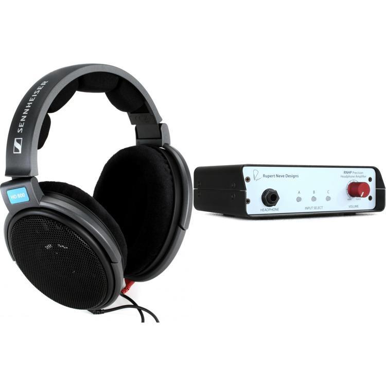 Rupert Neve Designs Headphone Amplifier + Sennheiser HD600 Headphones image 1