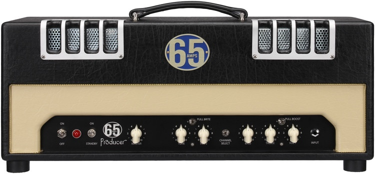 65amps Producer 6L 28-watt Handwired Tube Head with 6L6 Tubes image 1