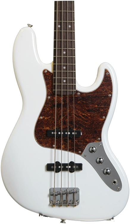 Squier Vintage Modified Jazz Bass - Olympic White image 1