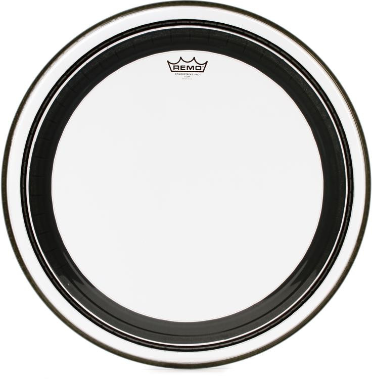 Remo Powerstroke Pro Clear Bass Drum Head - 22