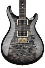 PRS Custom 24 10-Top - Charcoal Burst with Pattern Thin Neck