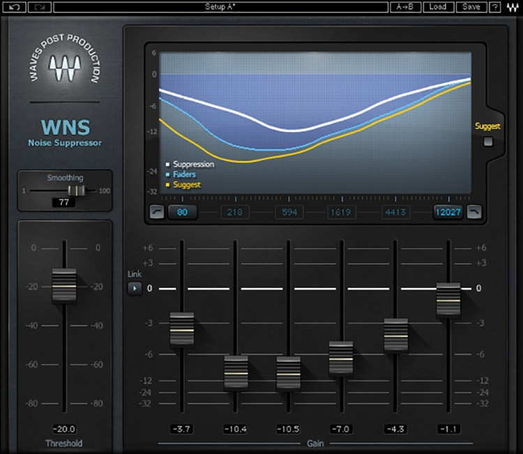 Waves WNS Noise Suppressor Plug-in image 1