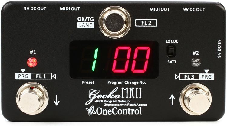 One Control Gecko Mark II MIDI Switcher image 1