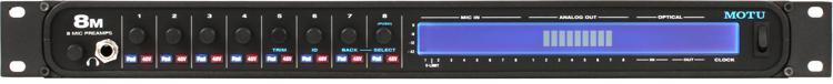 MOTU 8M 24x24 Thunderbolt / USB 2.0 Audio Interface with AVB image 1