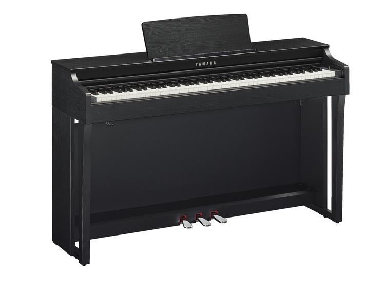 Yamaha clavinova clp 625 matte black sweetwater for Yamaha clavinova clp 260 review