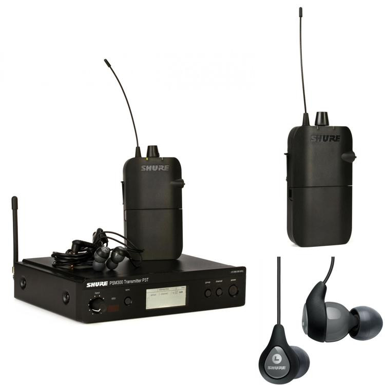 shure psm300 wireless dual in ear monitor system j13 band sweetwater. Black Bedroom Furniture Sets. Home Design Ideas