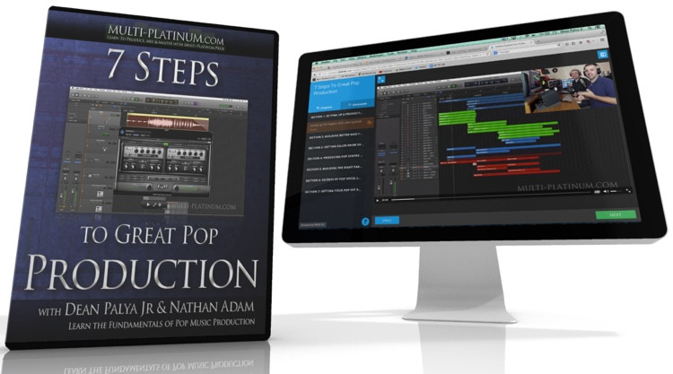 Multi Platinum 7 Steps to Great Pop Production Interactive Course image 1