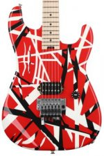 EVH Striped Series - Red, Black, and White