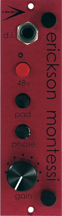 A Designs EM-Red Microphone Preamp image 1