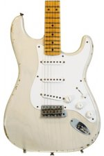 Fender Custom Shop 1955 Relic Stratocaster Limited Edition - Dirty White Blonde