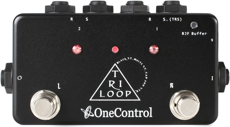 One Control Tri Loop Effects Switcher image 1
