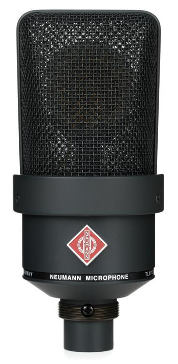 Neumann TLM 103 Large-Diaphragm Condenser Microphone - Matte Black image 1