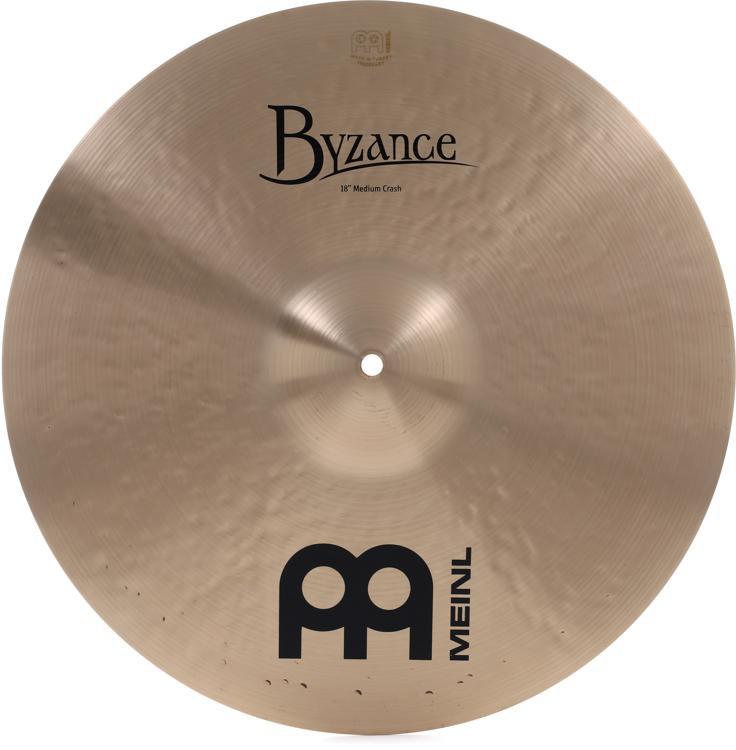 Meinl Cymbals Byzance Traditional Medium Crash - 18