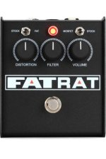 Pro Co Fat Rat Selectable Mosfet Clipping and Boost Distortion Pedal