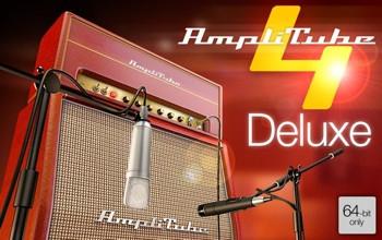 IK Multimedia AmpliTube 4 Deluxe Software Suite image 1