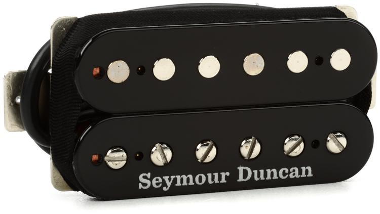 seymour duncan sh 11 custom custom humbucker pickup black sweetwater. Black Bedroom Furniture Sets. Home Design Ideas