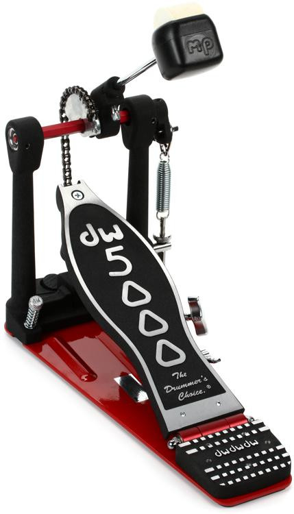 dw 5000 series accelerator bass drum pedal single chain sweetwater. Black Bedroom Furniture Sets. Home Design Ideas