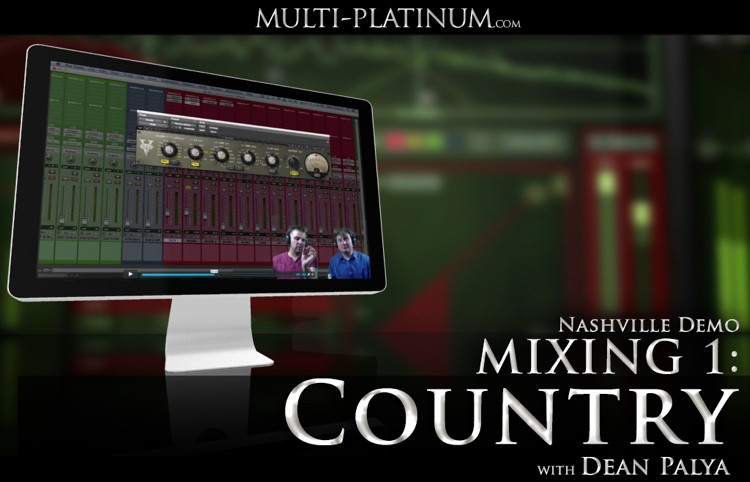 Multi Platinum Nashville Demo Mixing 1: Country Interactive Course image 1