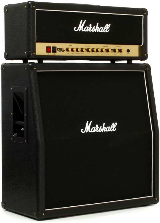 Marshall DSL100H Bundle - Head and MX412A Cabinet Bundle image 1