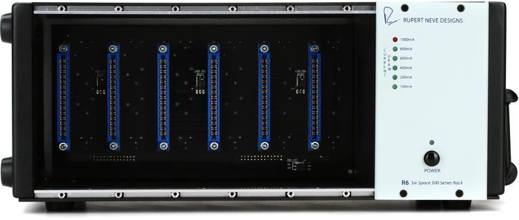 Rupert Neve Designs R6 Six Space 500 Series Rack image 1