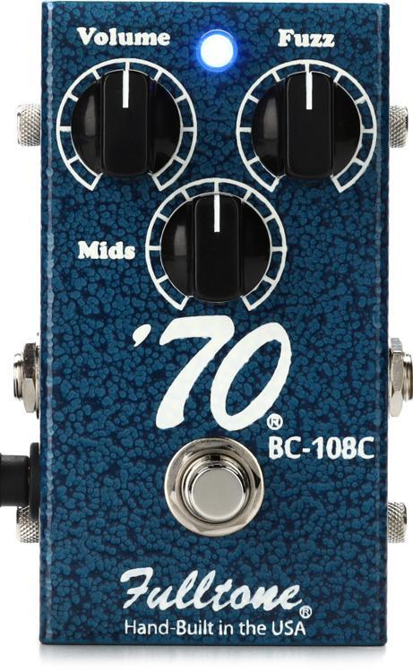 Fulltone \'70 BC-108C Fuzz Pedal image 1