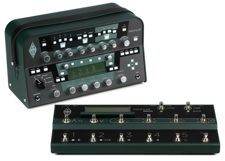 Kemper Profiler Power Head + Profiler Remote - 600-watt Profiling Head with Remote Controller image 1