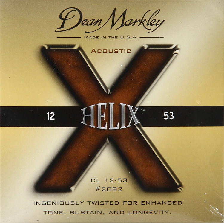 Dean Markley 2082 Helix HD 80/20 Bronze Custom Light Acoustic Strings image 1